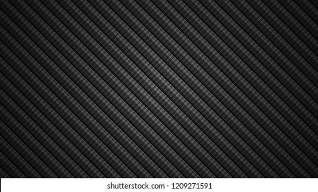 Abstract Carbon fiber pattern Geometric grid background Modern dark texture