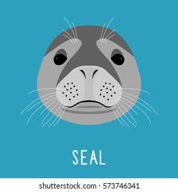 Seal Head Images, Stock Photos & Vectors | Shutterstock