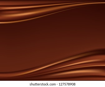 Abstract chocolate background, raster version