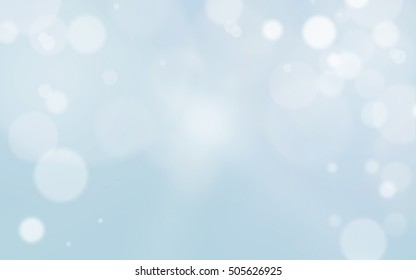 Abstract of Christmas with blurred and bokeh light background.