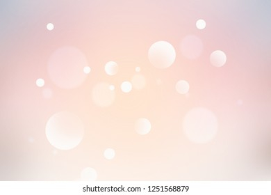 Abstract of christmas bokeh light background.