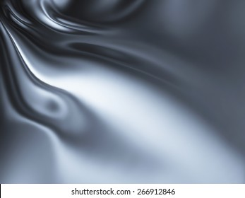 abstract chrome background - computer generated  for your projects