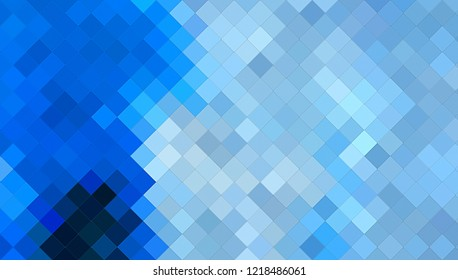 Abstract color background. Wall of colorful geometric shapes. Modern design of gradient mosaics.