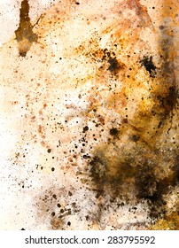 abstract color Backgrounds, painting colage with spots, rust structure