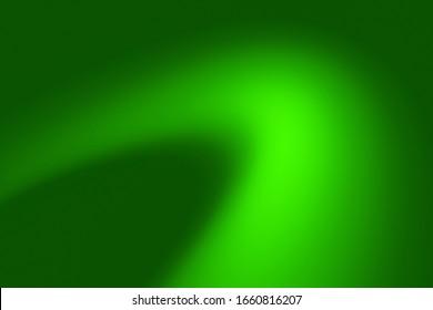 Abstract color dark green gradient web template background.  Gradation deep mint light texture pattern. bend,curve,ray,radius,Aura,