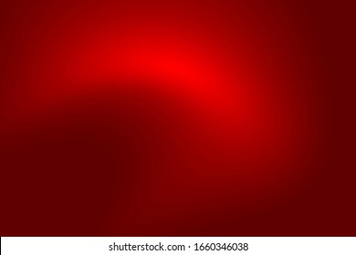 Abstract color dark red gradient texture Christmas. Gradation deep red light Valentine's Day background.bend, curve,ray,radius,Aura,