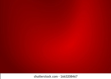 Abstract color dark red gradient texture Christmas. Gradation deep red light Valentine's Day background.