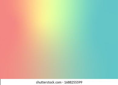 abstract color gradient background, creative graphic wallpaper with blue, yellow and pink for presentation