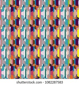 Abstract color seamless pattern for new background. - Shutterstock ID 1082287583