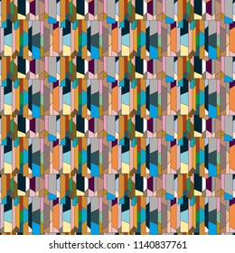 Abstract color seamless pattern for new background. - Shutterstock ID 1140837761
