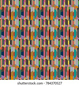 Abstract color seamless pattern for new background. - Shutterstock ID 784370527