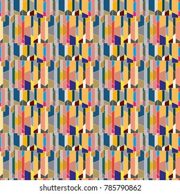 Abstract color seamless pattern for new background. - Shutterstock ID 785790862