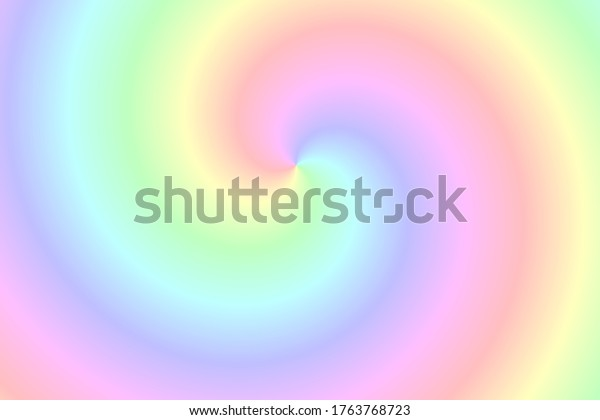 Abstract color spiral blur background
