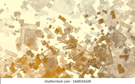 Abstract. Color texture. Wide brush. Painterly mix. Backdrop material. Wall painting. Modern art. Canvas surface. 2d illustration. Oil painting. Colorful pattern.