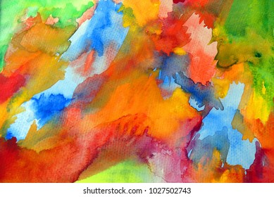 Abstract colored motley