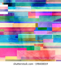 abstract colorful background of geometric elements