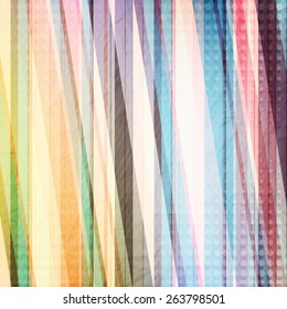 abstract colorful background with paper stripes and dots. fashion wallpaper design