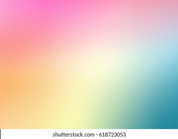 Abstract colorful background.color pastel blurred gradient