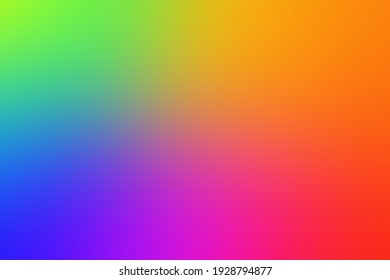 Abstract Colorful Blurred Background.Green,Yellow,Red,Purple,Blue Mesh Gradient Background