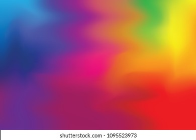 abstract colorful bright color paint brush art background, multi colorful painting art acrylic water color wallpaper pastel, gradient color art  brush mixed, pastel soft oil color paint