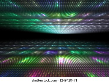 abstract colorful dance floor background texture