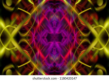 Abstract colorful fractal background. Illustration technology.