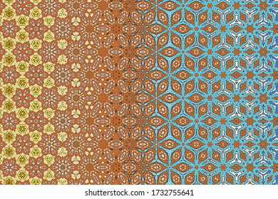 abstract colorful geometric background with artistic elements as brush stroke and acrylic texture