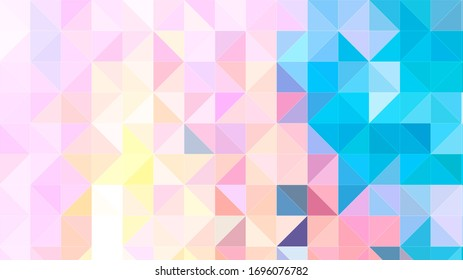 Abstract Colorful Geometrical Artwork,Abstract Graphical Art Background Texture,Modern Conceptual Art,Low Poly