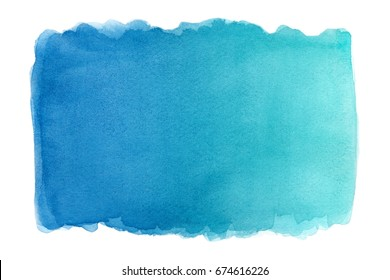 Abstract colorful hand draw water color background