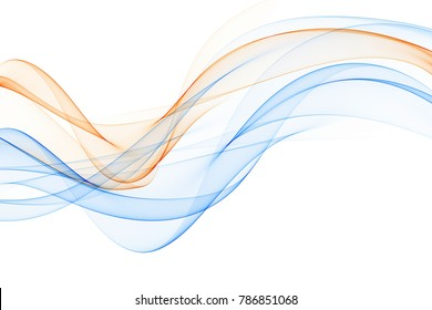 Abstract colorful lines design.