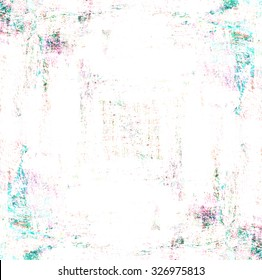 abstract colorful paint brush background with scratch texture