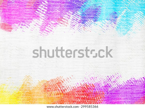 Abstract Colorful Poster Color Background Stock Illustration