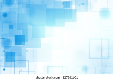 Abstract colorful square background.