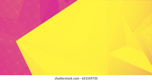 abstract colorful triangle duo tone background