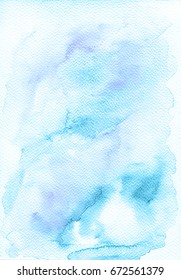 Abstract colorful watercolor for background , watercolor bakcround , hand painted watercolor , grunge backround