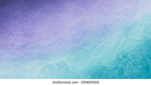 Abstract colorful watercolor paint pastel tone blue green pink violet purple background with liquid fluid texture for background, banner