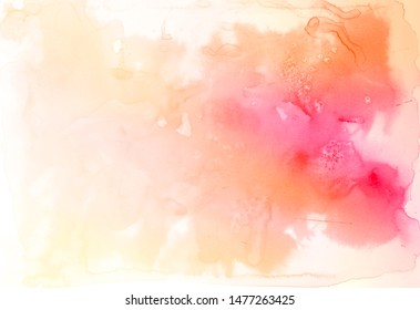 Abstract colorful watercolor paper texture background.