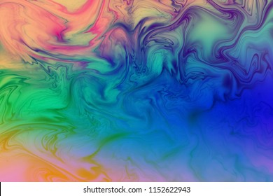 Abstract colorful wavy texture. Fantasy fractal background. Digital art. 3D rendering.