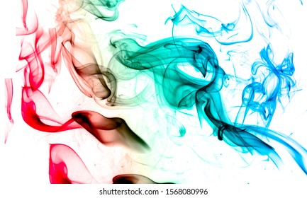 abstract colourful smoky back ground