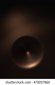 Abstract comb - Copper - 3D render