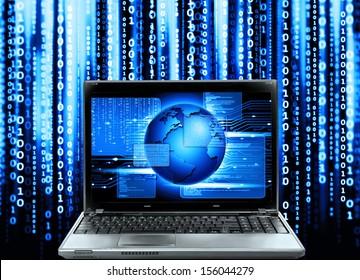 abstract computer code,software program