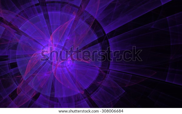 Abstract computer generated image. Fractal