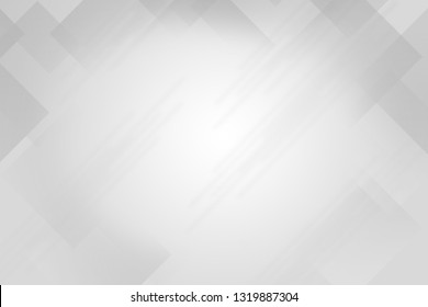 Abstract Computer generated White and Silver Wallpaper and Background.