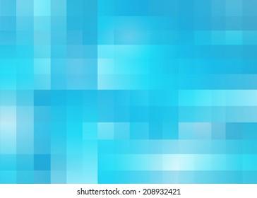 Abstract cool blue random pixel .jpg background