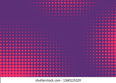 Abstract Creative concept comics pop art style blank layout template with clouds beams and isolated dots pattern on background. For Web and Mobile Applications, illustration template design