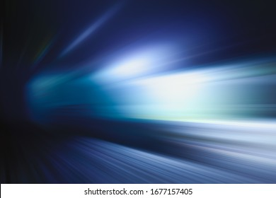 ABSTRACT DARK BACKGROUND WITH FLASHING LIGHTS AND SPEED MOTION EFFECTS