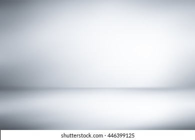 Abstract dark gray empty room studio gradient used for background and display your product
