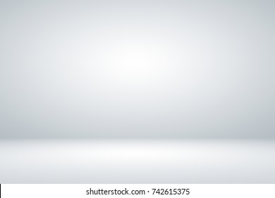 Abstract dark grey with white gradient background wallpaper empty studio room used for display product ad website template