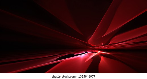 Abstract dark red background with the horizon