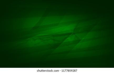 Abstract darknet green color digital technology background illustration
